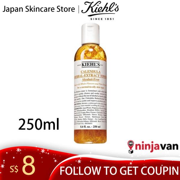 Buy 【Japan Skincare Store】Kiehls Calendula Herbal Extract Toner Alcohol-Free Toner 250ml Singapore