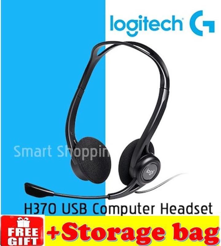 Logitech H370 USB HEADSET WITH DIGITAL AUDIO head-set Singapore