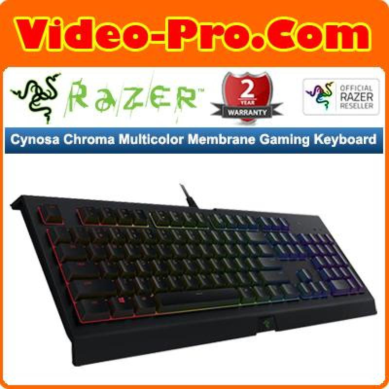 Razer Cynosa Chroma Multicolor Membrane Gaming Keyboard RZ03-02260100-R3M1 Singapore