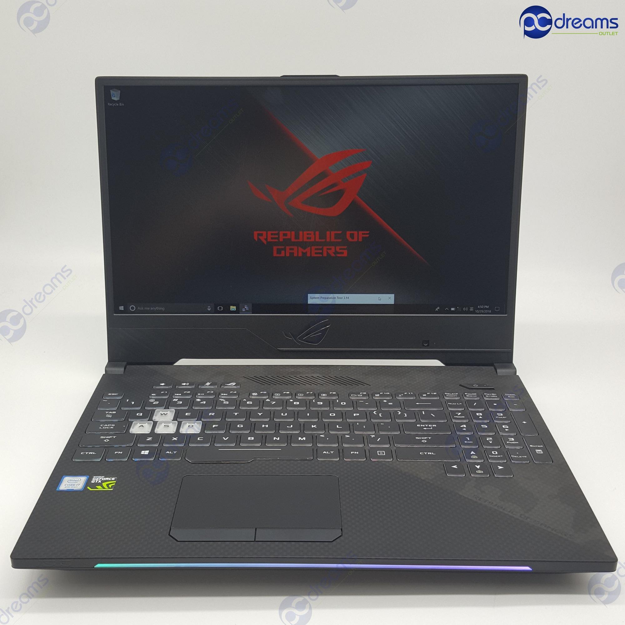 ASUS ROG STRIX SCAR II GL504GM-ES172T i7-8750H/16GB/256GB PCIe SSD+1TB HDD/GTX1060 [Premium Refreshed]