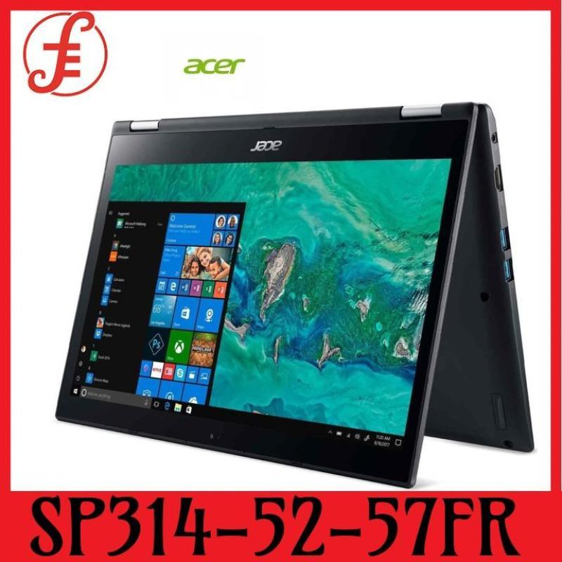 ACER SP314-52-57FR (GREY) 14 IN INTEL CORE I5-8265U 8GB 128GB SSD+1TB HDD WIN 10 (SP314-52-57FR)
