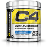 Cellucor Fourth Generation C4 Pre Workout Icy Blue Razz 60S Free Shipping