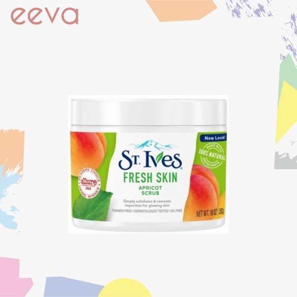 Buy St. Ives Facial Scrub Invigorating Fresh Skin 10oz Singapore