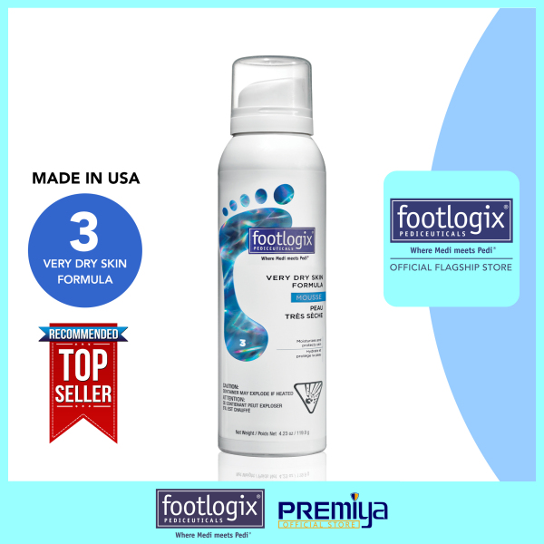 Buy Footlogix® Very Dry Skin Formula [With Dermal Infusion Technology] 125 mL [FOOTLOGIX® OFFICIAL FLAGSHIP STORE] Singapore
