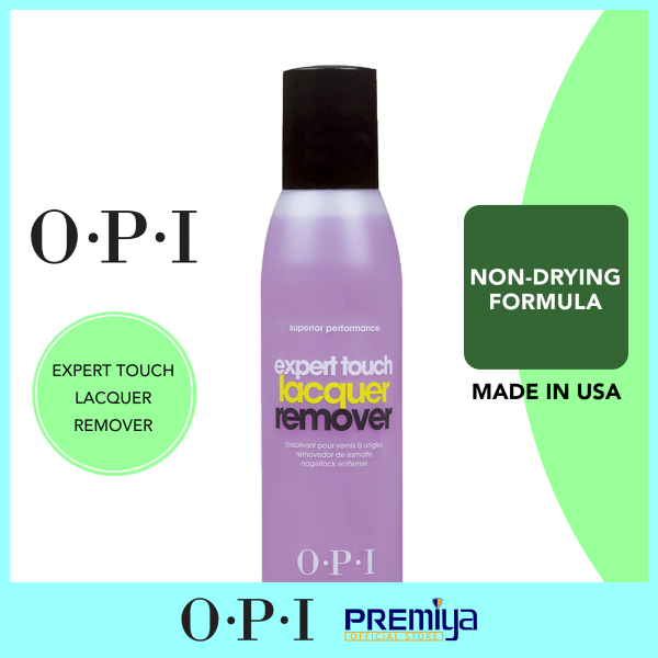 Buy OPI Expert Touch Lacquer Remover 110 mL Singapore