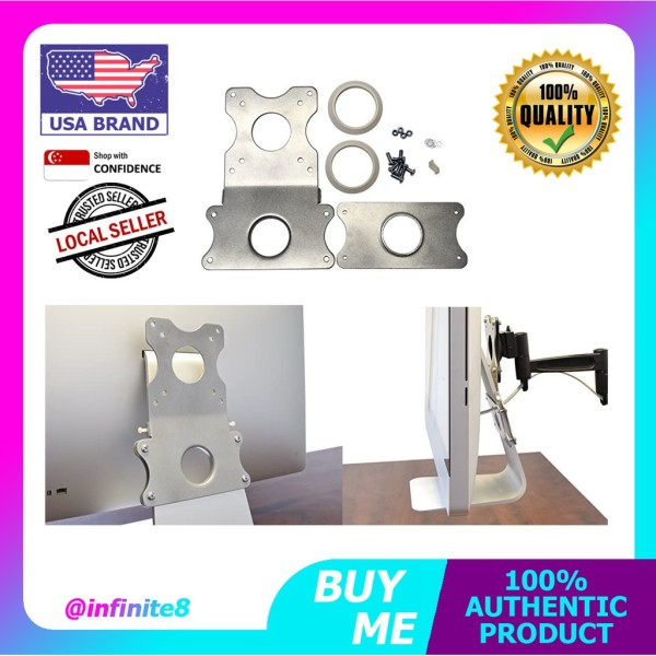 VIVO USA Adapter VESA Mount Kit, Bracket Set for Apple 21.5 inch and 27 inch iMac Late 2009 to Current Model LED Display