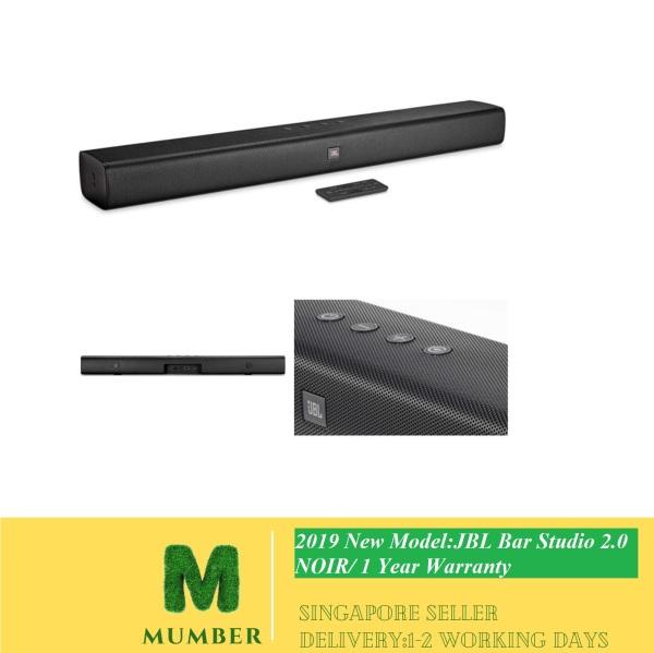 2019 New Model:JBL Bar Studio 2.0 NOIR - Channel Soundbar with Bluetooth/1 year warranty Singapore