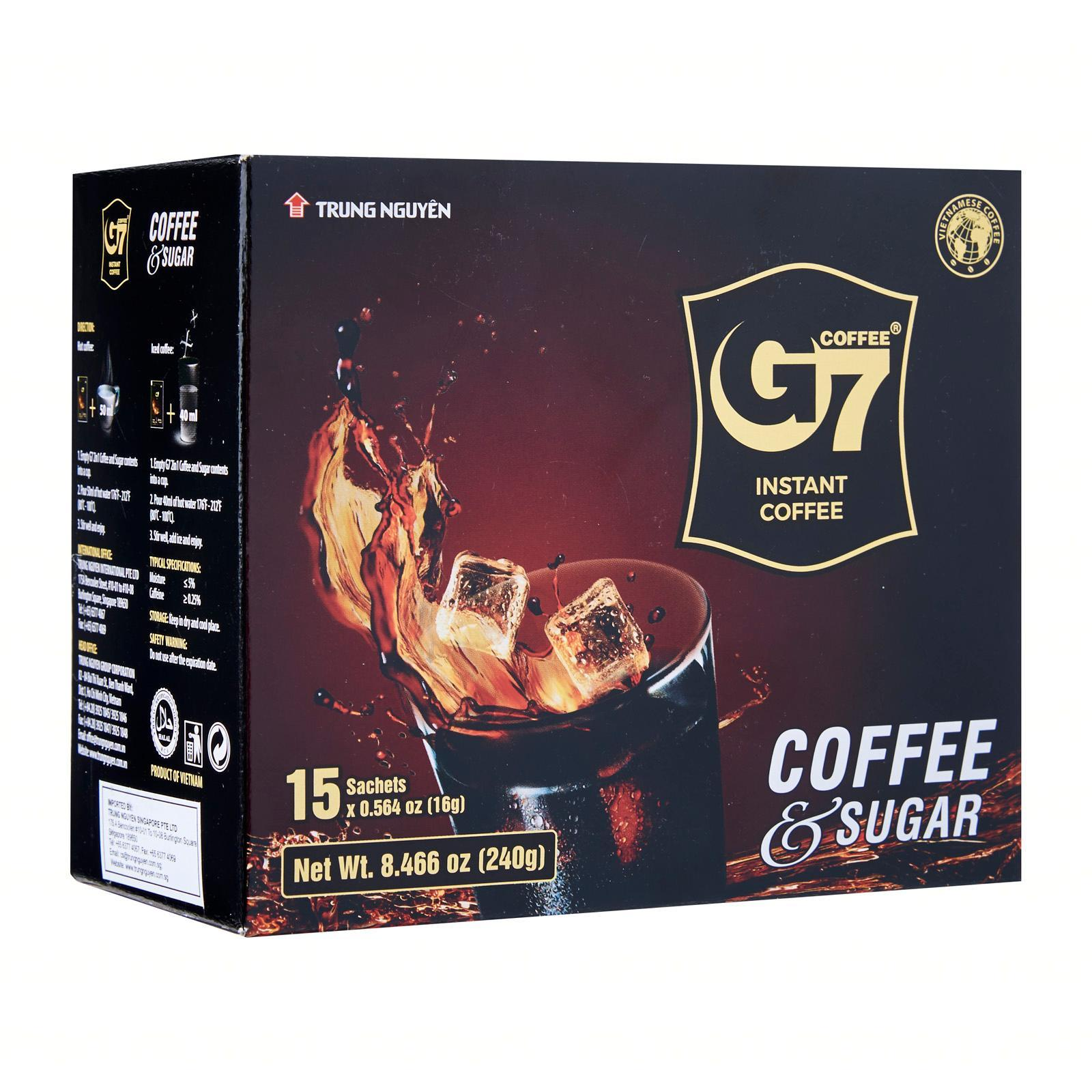 G7 2in1 Coffee and Sugar - 15s