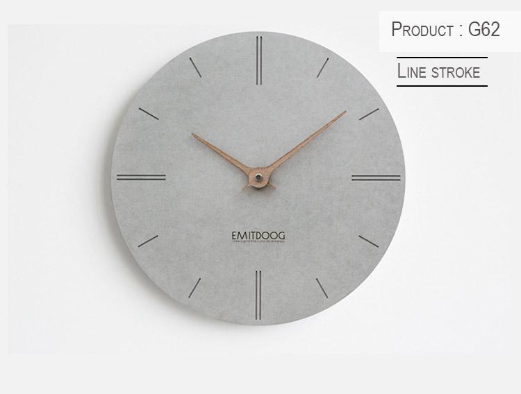 ♛Korean Classic Wall Clock - Grey Series Collection 2019 S/S ♛Suzuki Silent Movement/Stocks in SG