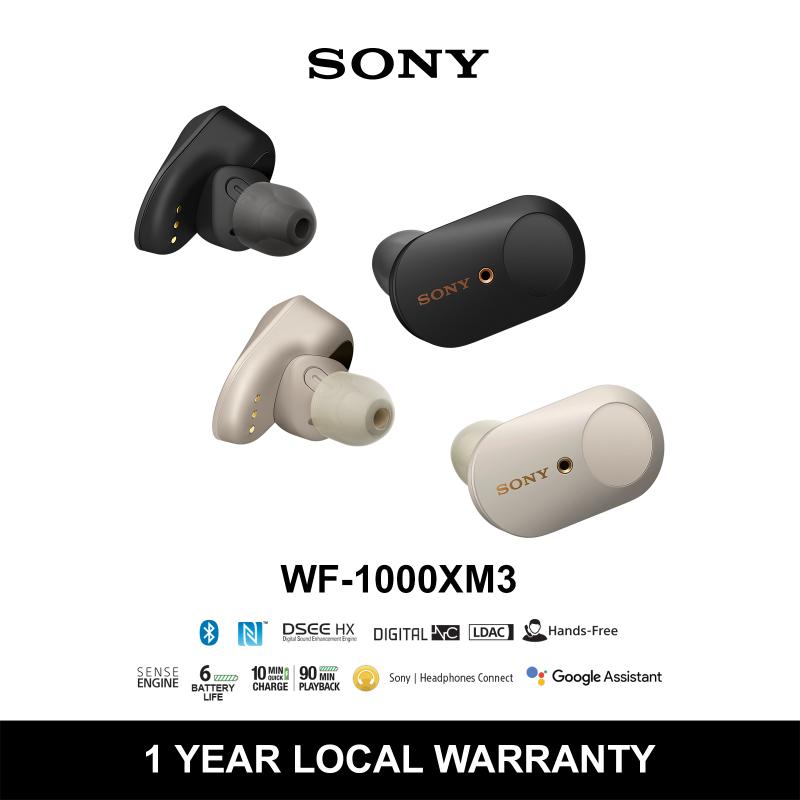 WF-1000XM3 Wireless Noise Cancelling Headphones Singapore