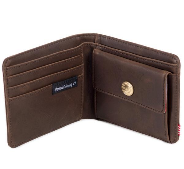 054d4837d6 Herschel genuine leather wallet with Coin pocket Hank coin wallet