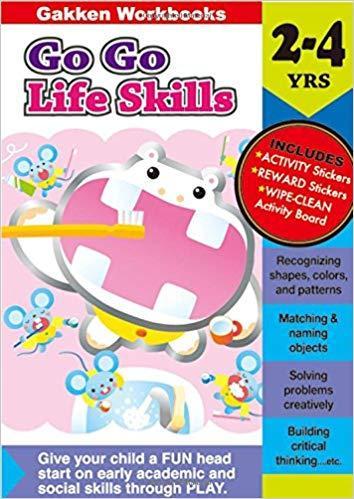 *Activity book* Go Go Life skills 2-4 (Gakken Workbooks)