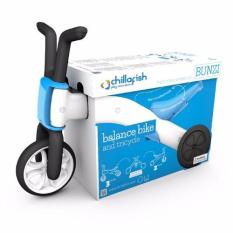 Chillafish Bunzi 2 In 1 Gradual Balance Bike Blue Lower Price