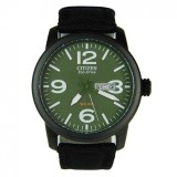 Review Citizen Bm8475 00X Eco Drive Military Green Dial Canvas Solar Watch Bm8475 00 Multicolor Singapore