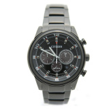 Lowest Price Citizen Eco Drive Ca4035 57E Men Black Dial Analog Round Stainless Steel Watch