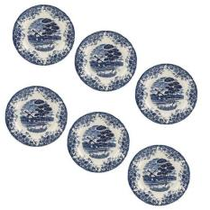 Claytan 10 Dinner Plate Blue Windmill X185B Set Of 6 Review