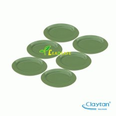 Claytan 20Cm Oval Plate Tmd28 Mg Set Of 6 Discount Code