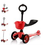 Review Cmax 3In1 Flashing Led Wheels Kids Scooter Red Singapore