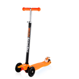 Buy Cheap Cmax Height Adjustable Kids Scooter With Flashing Led Wheels Orange
