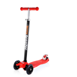 For Sale Cmax Height Adjustable Kids Scooter With Flashing Led Wheels Red