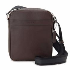 6d6e5064f64c Coach F54782 Mens Charles Flight Crossbody Sling Bag in Smooth Leather (Mah  Brown)