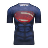 Where To Shop For Cody Lundin Men Fashion 3D T Shirt Superhero Batman Alliance Shirt Quick Dry Fitness Compressed Dry T Shirt Intl