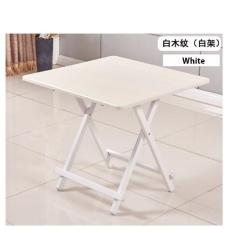 Colorful Folding Portable Foldable Table White 70 X 74 H Cm In Stock