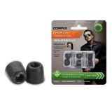 Compare Prices For Comply Foam Tips Tx 200 3 Pairs Black Medium Genuine