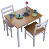 Price Comparison For Blmg Blmg13 Cona Dining Table 2 Piece Set White Free Delivery