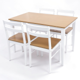 Blmg Blmg13 Cona Dining Table 4 Piece Set White Free Delivery Lower Price