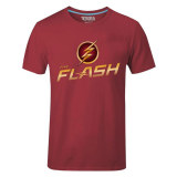 How To Get Cosplay Men S Dc The Flash Flag And Logo T Shirt Red