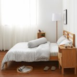 Cotton Pure™ Menatee Grey Stripe Knitted Cotton Bundle Bed Set Best Price