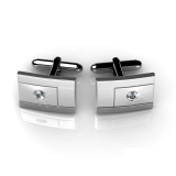Cheaper Groove Cufflinks Crystals From Swarovski®