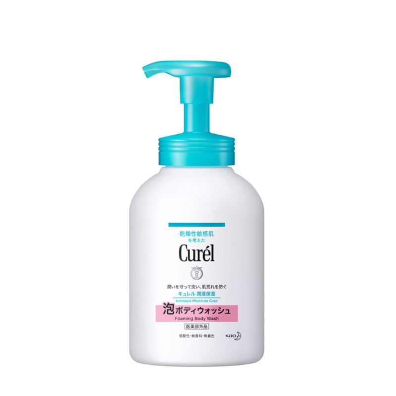 Buy Curel Instant Foaming Body Wash 480ml Singapore