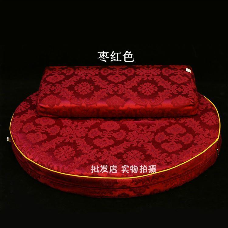 Round zong ban Prayer Mat Coconut Shred Prayer Mats Buddha Pad Temple Buddha. Chair da zuo dian Futon