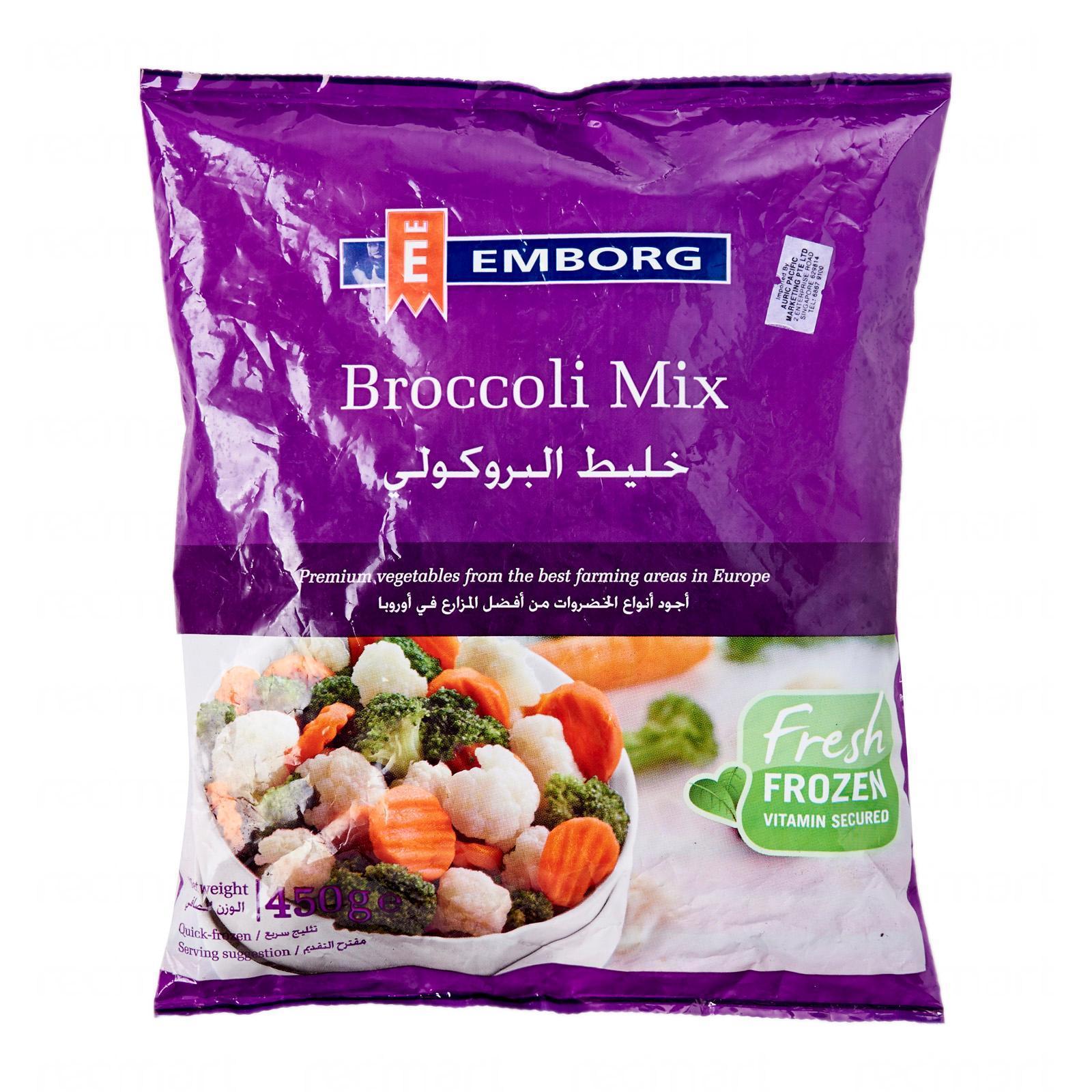 Emborg Broccoli Mix - Frozen By Redmart.