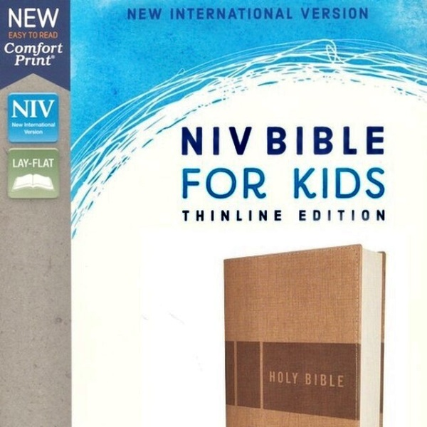 NIV Bible for Kids(Ages 8-12) THINLINE Edition, TAN Leathersoft in Comfort Print: 5282.