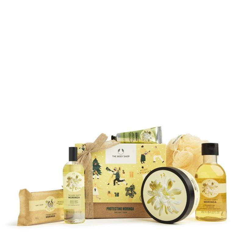 Buy The Body Shop Protecting Moringa Big Gift Box (Limited Edition Set) Singapore