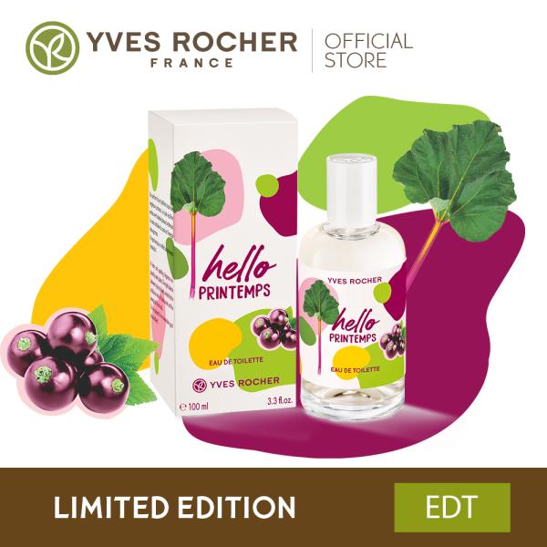 Buy Yves Rocher Hello Printemps Eau De Toilette Limited Edition 100ml Singapore