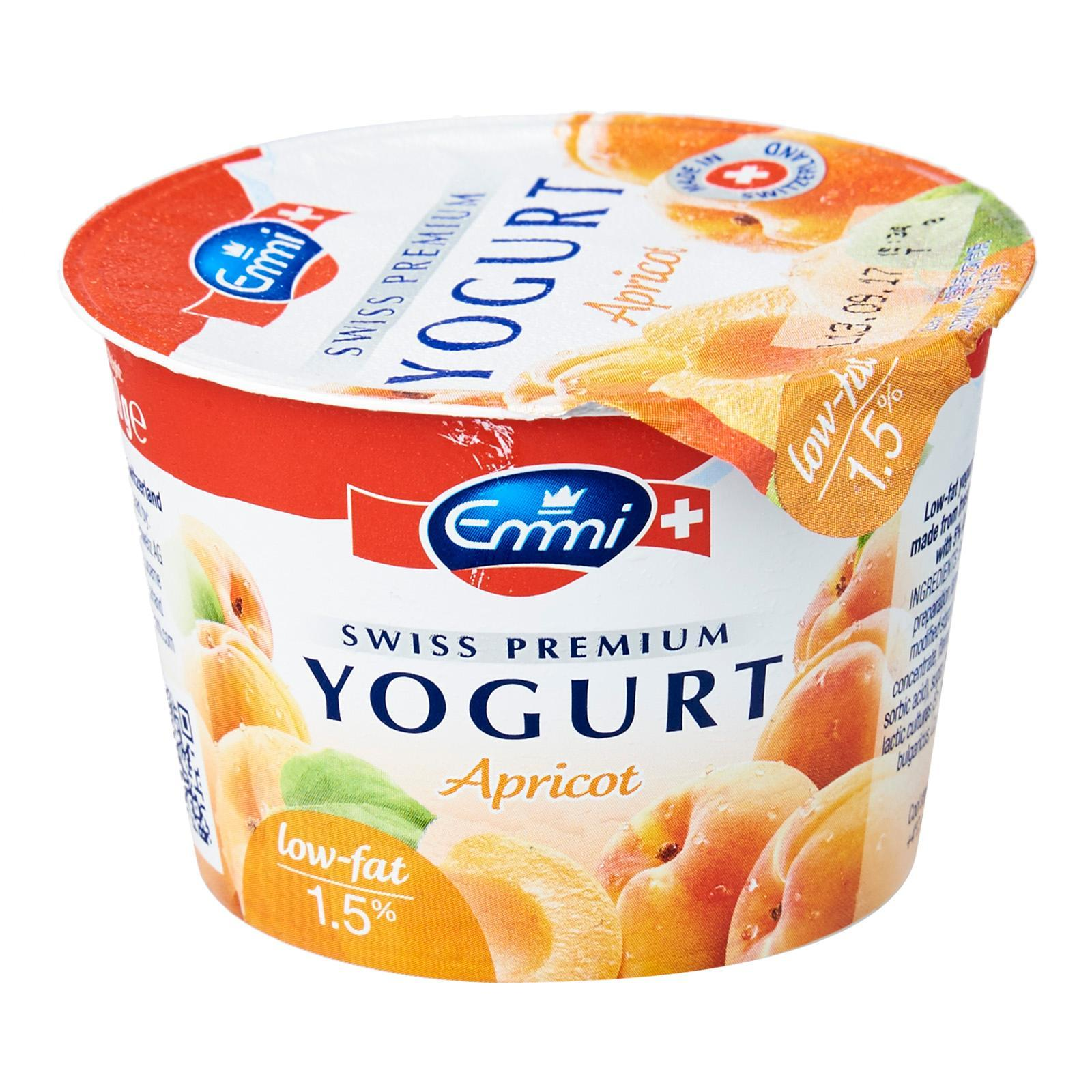 EMMI Yoghurt Low Fat - Apricot 100g