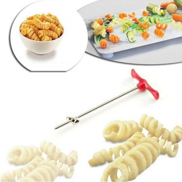 Stainless Steel Potato Spiral Cutter (LLS1105) Singapore Seller + 100% Authentic.