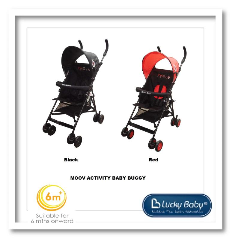 Lucky Baby® 500682 +500699 Moov™ Activity Baby Buggy Singapore