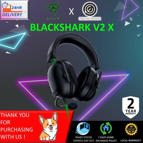 Razer BlackShark V2 X Gaming Headset: 7.1 Surround Sound Capable - 50mm Drivers - Memory Foam Cushion - for PC, PS4, Nintendo Switch - 3.5mm Headphone Jack