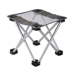 Camping Stool Mini Lightweight, Portable Camping Chair for Foldable Solid Steel High Load-Bearing, Support 150Kg thumbnail