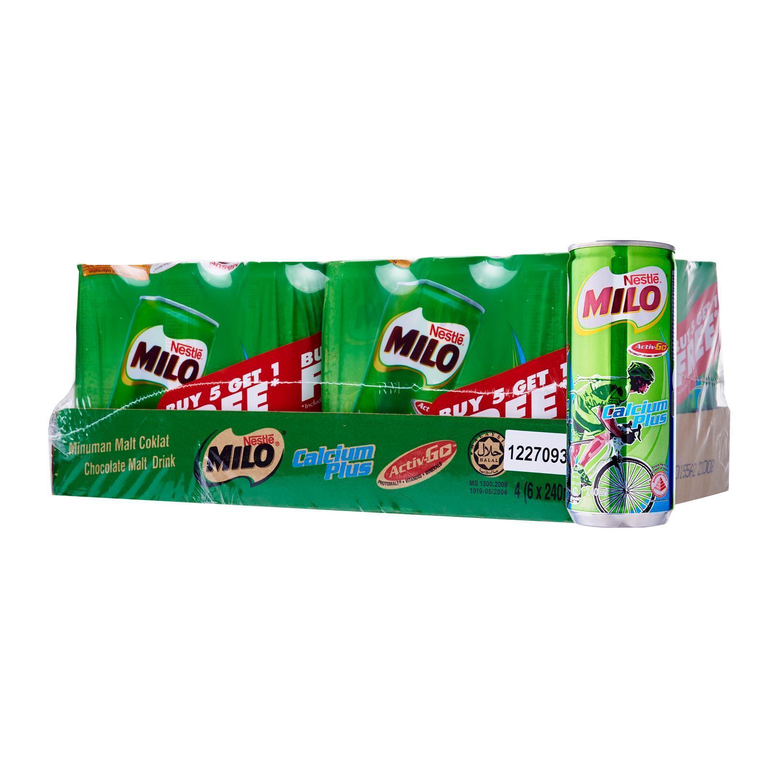 MILO Can Calcium Plus (5+1) - Case