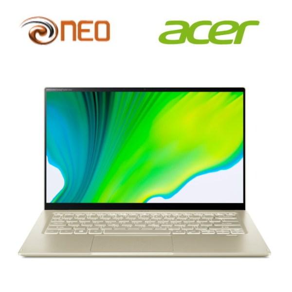 Acer Swift 5 SF514-55T-54U0 (Gold) laptop with LATEST 11th Gen Intel i5-1135G7 processor