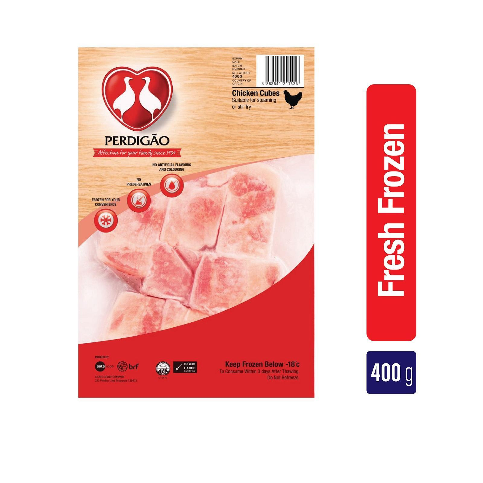 Perdigao Chicken Cubes - Frozen