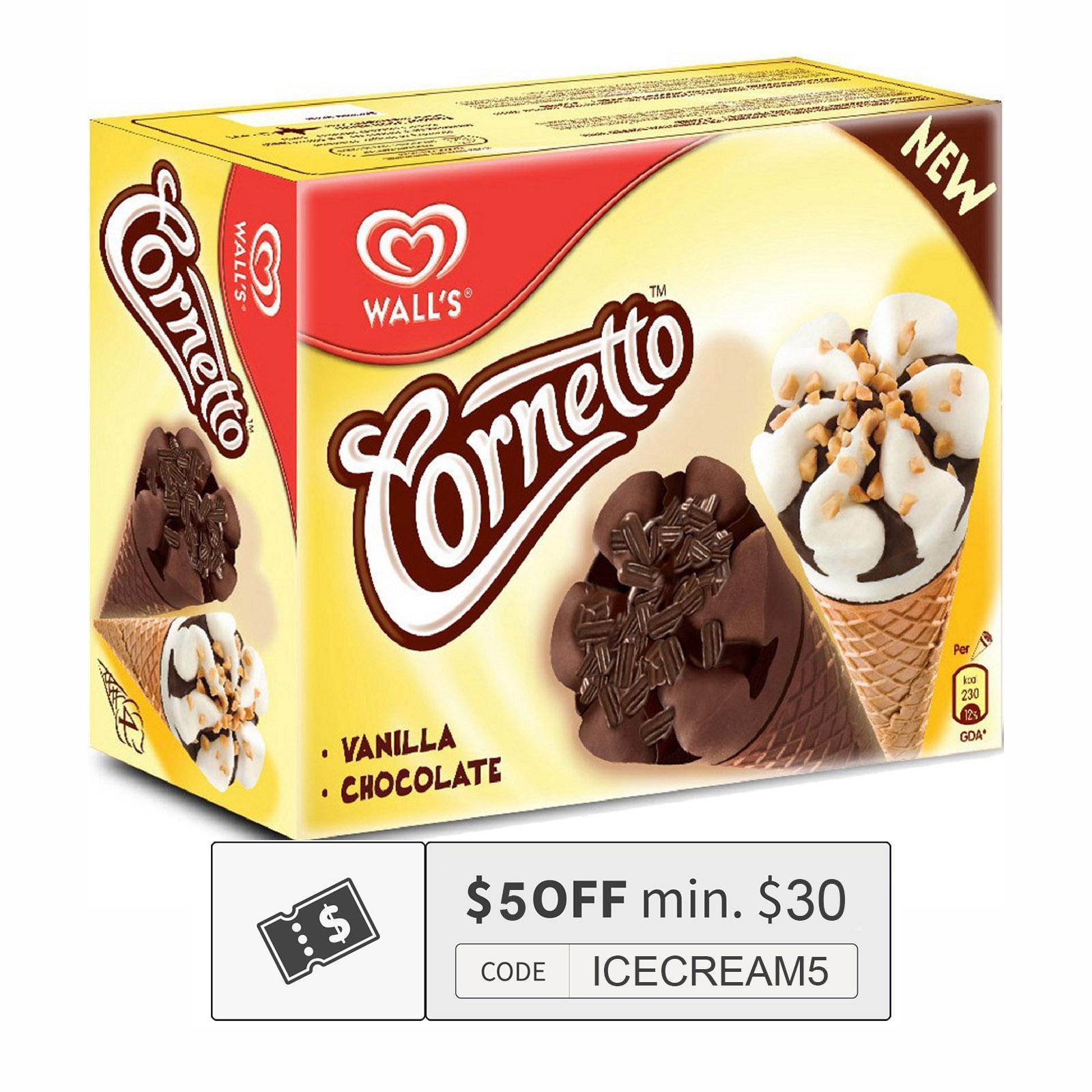 Cornetto Classic Mix Multi Pack Ice Cream