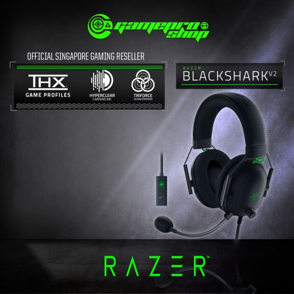 Razer BlackShark V2 Esports THX Spatial Audio Gaming Headset