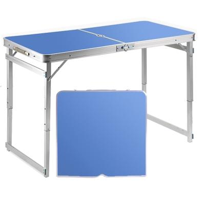 Portable Foldable Aluminium Table / Height-Adjustable Folding Table / home room office commercial computer study picnic camping party worship pray lifting desk
